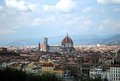 Florence spectacular panorama of city Royalty Free Stock Image