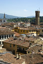 Florence view of from a height Royalty Free Stock Photo