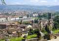Florence views of from the gardens bardeen Royalty Free Stock Photos