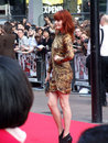 Florence Welch At Scott Pilgrim Vs The World Royalty Free Stock Photo