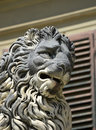 Florentine lion in the boboli gardens Royalty Free Stock Photo