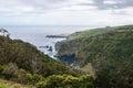 Flores fajazinha view mosteiro island azores portugal Stock Image