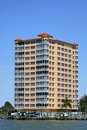 Florida coast high rise Royalty Free Stock Photography