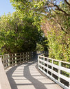 Florida Keys raised walkway Stock Photography