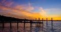 Florida Keys Sunset Royalty Free Stock Photo