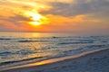 Florida Ocean Beach Sunset
