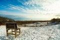 Florida panhandle beach Royalty Free Stock Photo