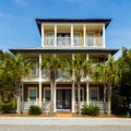 Florida Panhandle Home Royalty Free Stock Photo