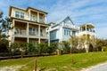 Florida Panhandle homes Royalty Free Stock Photo