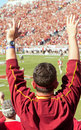 Florida State Seminoles Football Fan Stock Photography