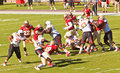 Florida State vs Maryland Football Game Royalty Free Stock Photography