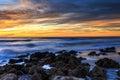 Florida Sunset Beach Royalty Free Stock Photo
