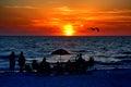 Florida Sunset Watch Royalty Free Stock Photo