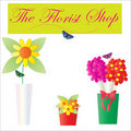 Florist Shop Flowers Royalty Free Stock Photos