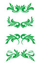 Flourishes decorations Royalty Free Stock Photography