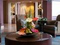 Flower arrangement with anthurium Royalty Free Stock Photo