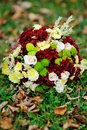 Flower Arrangement of autumn Stock Photography