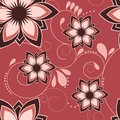 Flower background seamless beautiful pink baclground Stock Images