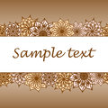 Flower background with space of your text Royalty Free Stock Photo