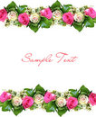 Flower background with structure Royalty Free Stock Photos