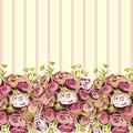 Flower background vector summer with flowers Stock Photos