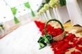 Flower Basket Royalty Free Stock Photo