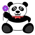 Flower bear creative design of Stock Photo