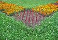 Flower-bed Lizenzfreie Stockbilder