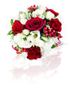 Flower bouquet arrangement centerpiece Royalty Free Stock Images