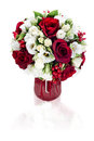 Flower bouquet arrangement centerpiece Royalty Free Stock Photos
