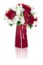Flower bouquet arrangement centerpiece Stock Image