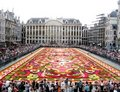 Flower carpet in Brussels 2008 Stock Photography
