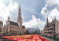 Flower carpet in brussels belgium august the the grand place of on august nnhttp www flowercarpet be Stock Image