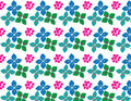 Flower colours patterns Stock Photo