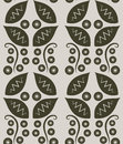 Flower Decoration Pattern 3 Royalty Free Stock Photos