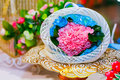 Flower decoration for weddings on phan Stock Photos