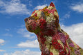 Flower Dog in Bilbao Royalty Free Stock Photo