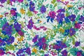 Flower fabric colour background detail Royalty Free Stock Photo