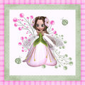 Flower Fairy 3 Royalty Free Stock Images