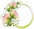 Květina rám