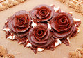 Flower Frosting Stock Photos