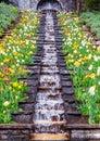 Flower water cascade