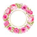Flower garland. Royalty Free Stock Photo