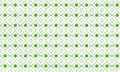 Flower green square pattern Royalty Free Stock Photo