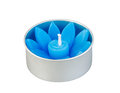 Flower handmade candle Royalty Free Stock Photo
