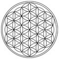 The Flower of Life Stock Photography