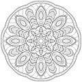 Mandala outline