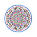 Flower Mandalas. Oriental decorative pattern illustration. Islam, Arabic, Indian, turkish, pakistan, chinese, ottoman motifs.