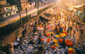 Flower market, India Royalty Free Stock Photo