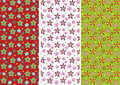 Flower pattern Stock Photography